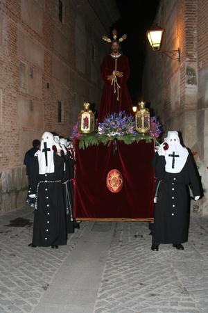 talavera:   Jesus Image Talavera Captive Editorial