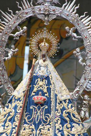 talavera: Image of the Virgen del Prado of Talavera Editorial