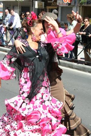 san isidro: Sevillana dress, Fairs of San Isidro, Talavera