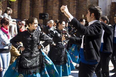 easter sunday: Easter Sunday, Feast of Mondas,  Talavera, Toledo
