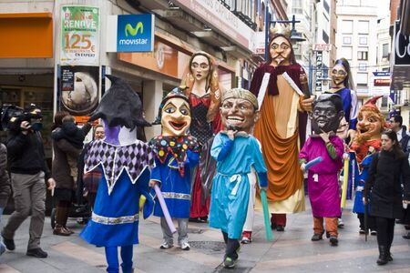 Giants and big heads of the festival, Mondas, Talavera