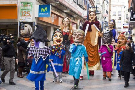 giants:  Giants and big heads of the festival, Mondas, Talavera