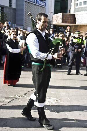 Courtship, Mondas the festival of of Talavera de la Reina Stock Photo - 13226098