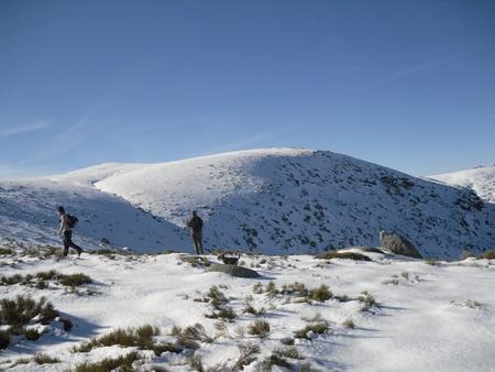 avila: Snow Mountain, Gredos, Avila, Spain