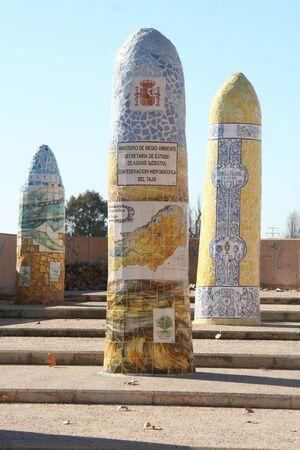 talavera: Ceramic monoliths, Talavera, Toledo, Spain Editorial