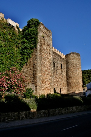 arenas: Constable Dávalos castle, also known as the Sad Countess of San Pedro Arenas, Avila, Spain Editorial