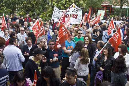 ugt: Demonstration of the work of May 1, Spain 1Mayo2012