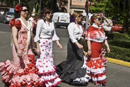 fiesta popular: Sevillana, shows San Isidro, Talavera, 05152012 Editorial