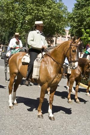 san isidro: Caballo en las ferias, San Isidro, 15-05-2012
