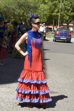 san isidro: Sevillana, shows San Isidro, Talavera, 05152012 Editorial