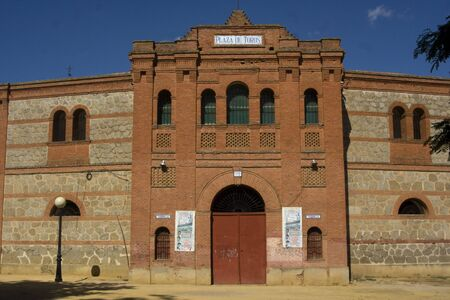Plaza de Toros Talavera, where he died in 1920 Joselito El Gallo Stock Photo - 13744819