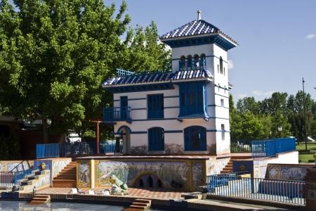 talavera: House of the duck pond, gardens Prado, Talavera, Toledo