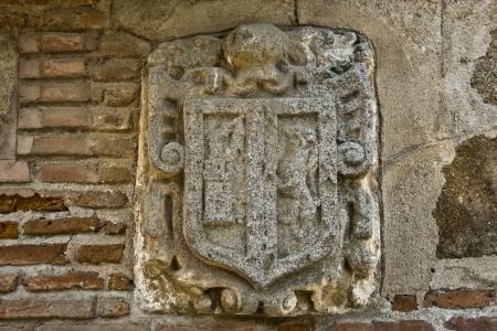 talavera: heraldic shield, decoration, Church, Talavera,
