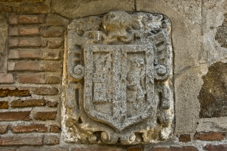 heraldic shield, decoration, Church, Talavera, Stock Photo - 13813564