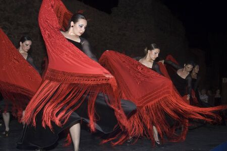 Dance Festival city of Talavera, Spanish dance 06012012 Editorial
