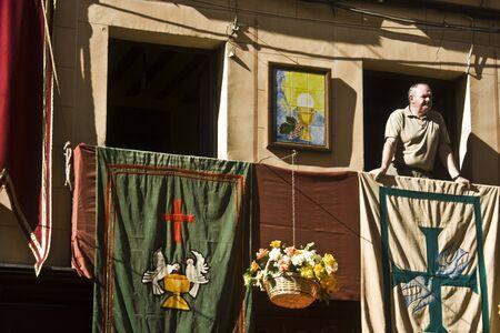 fiesta popular: Feast of Corpus Christi, Toledo, 7062012 Editorial