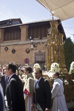 fiesta popular: Arce custody Procession Feast of Corpus Christi, Toledo, 7062012