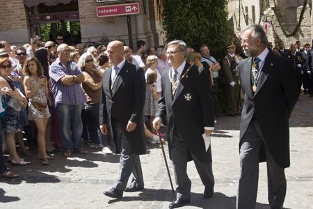 fiesta popular: Procession Feast of Corpus Christi, Toledo, 7062012
