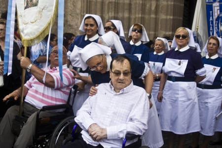talavera de la reina: Procession Feast of Corpus Christi, Talavera, 10062012