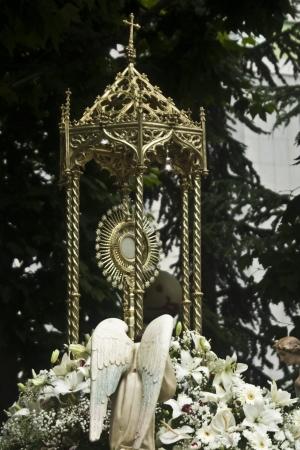 Garde procession du Corpus Domini à Talavera Banque d'images - 14141633