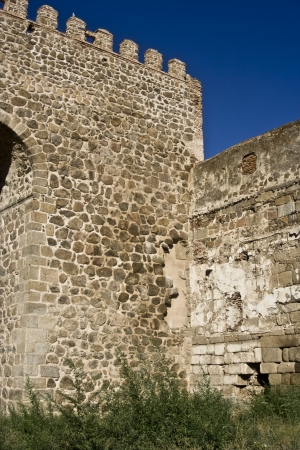 Walled enclosure wall of Talavera, Toledo Stock Photo - 15438826