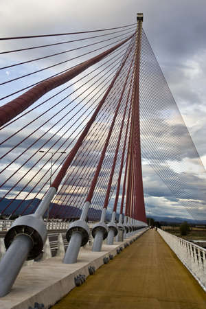 talavera: The cable-stayed bridge Talavera,