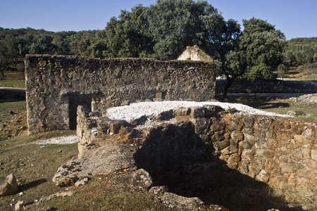 Oven to Cal  Calero  Montesclaros, Toledo, Spain,  Stock Photo