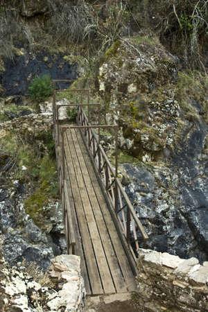 san pedro:  Quirol bridge