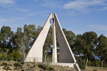 talavera: Monument to the Battle of Talavera Stock Photo