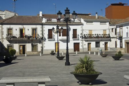 Navamorcuende City Council, Toledo Stock Photo - 15868321