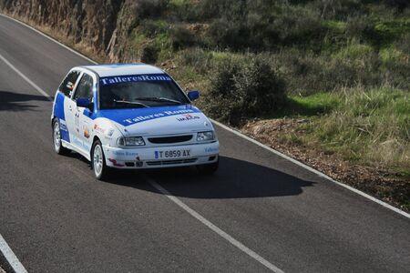Rally Segurilla, 11.11.2012 participating cars. Toledo