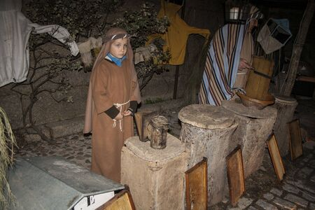 Living Bethlehem Christmas 2012, Navamorcuende, Toledo, Spain