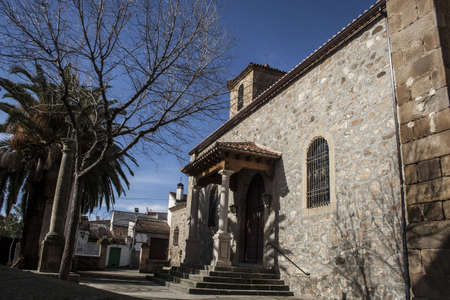 Parish of Parrillas, Toledo Stock Photo
