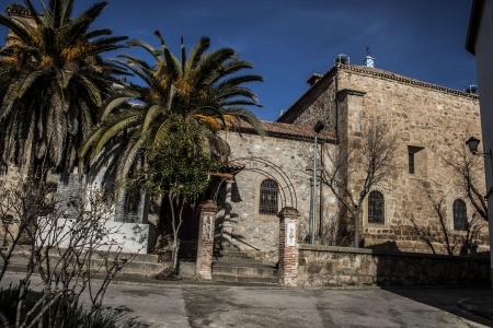 Parish of Parrillas, Toledo Stock Photo