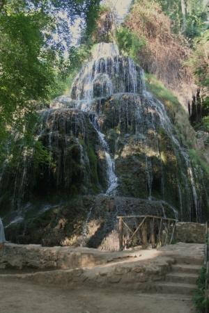 Cascade Monasterio de Piedra, Saragosse Banque d'images - 17974170