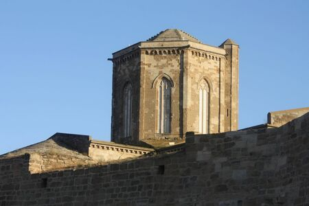 Detail of the cathedral, La Seu Vella, Lleida