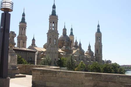 Tower, Basilica, Plaza del Pilar, Zaragoza