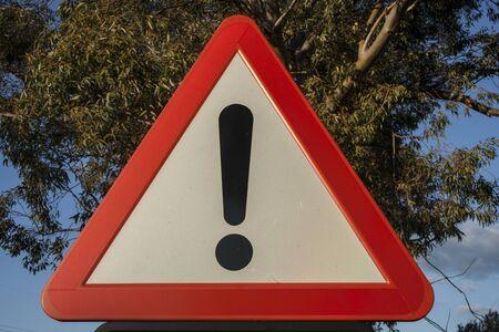 indefinite: Traffic signal danger indefinite