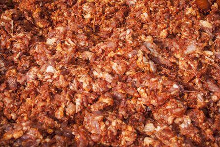 Chorizo Stuffings Stock Photo - 18389819
