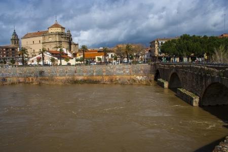 talavera: Tagus River, passing by Talavera