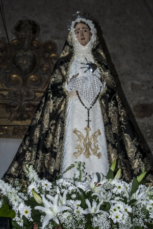 our lady of sorrows: Our Lady of Sorrows, Pepino, Toledo