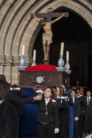 procession: Procesi�n del Cristo del Mar, Talavera, Toledo. 24032013