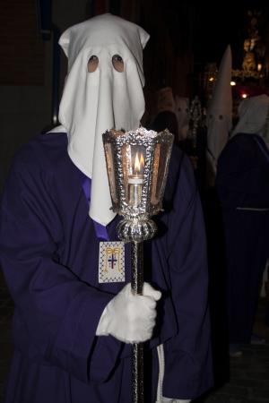 guilds: Holy Week 2013, Nazarene, Royal Brotherhood of the Holy Christ of Mercy, Talavera, Toledo