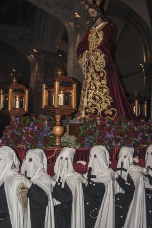 Holy Week, Captive Jesus, Talavera, Toledo, 2013
