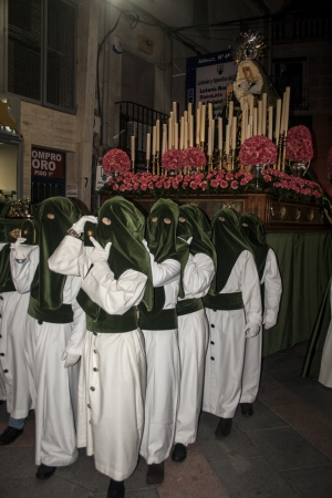 our lady of sorrows:  Holy Week 2013, Chargers of Our Lady of Sorrows, Talavera, Toledo