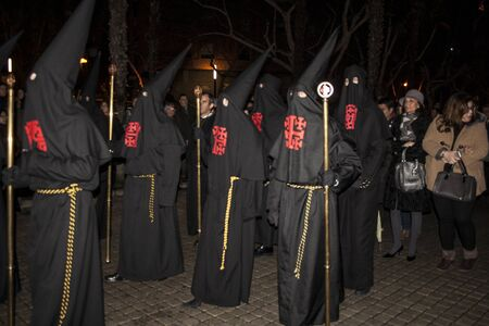 guilds: Holy Week Penitents, Brotherhood, Holy Sepulchre, Talavera, Toledo. 2013