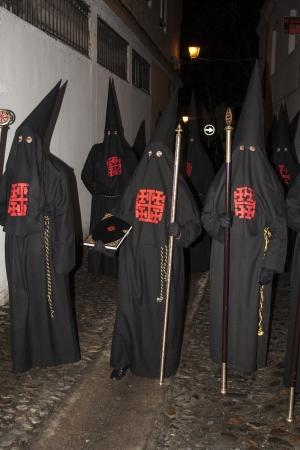 talavera: Holy Week Penitents, Brotherhood, Holy Sepulchre, Talavera, Toledo. 2013