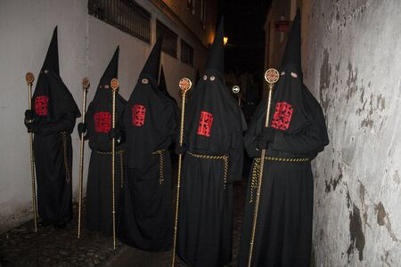 guilds: Holy Week Penitents, Brotherhood, Holy Sepulchre, Talavera, Toledo. 2013