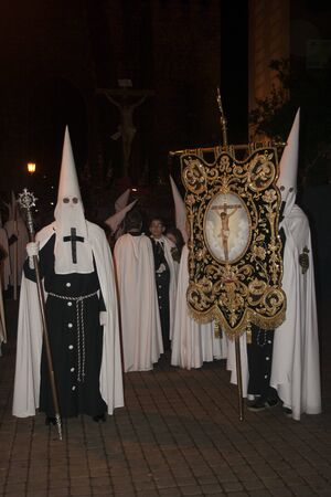 guilds: Holy Week  Penitents Confraternity Irrigators, Talavera, Toledo. 2013 Editorial
