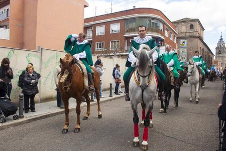 talavera de la reina: horsemen on horseback, Mondas Feast of Talavera de la Reina, Feast of National Tourist Interest, Toledo